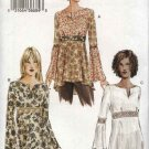 Vogue Sewing Pattern 7743 Misses Size 12-14-16 Easy Baby Doll  Pullover Top