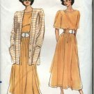 Vogue Sewing Pattern 7752 Misses Size 8-12 Easy Skirt Top Cardigan Jacket