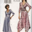 Vogue Sewing Pattern 7820 Misses Size 18-20 Easy Mock Wrap Dress
