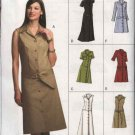 Vogue Sewing Pattern 7873 V7873 Misses Size 14-18 Easy Button Front Dress
