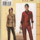 Vogue Sewing Pattern 7885 Misses Size 10-14 Top Pants Pantsuit Sandra Betzina