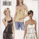 Vogue Sewing Pattern 7902 Misses Size 12-14-16 Fitted Bias Camisole Top