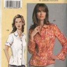Vogue Sewing Pattern 7903 Misses 10-14 Sandra Betzina Semi-Fitted Shirt Blouse Top