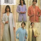 Vogue Sewing Pattern 7909 Misses Size 8-10-12 Easy Loose-Fitting Unlined Jacket