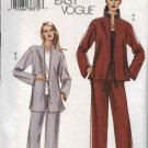 Vogue Sewing Pattern 7915 Misses Size 8-10-12 Easy Loose Jacket Pull-On Pants Pantsuit