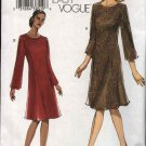 Vogue Sewing Pattern 7929 Misses Size 18-20-22-24 Easy Fitted A-line Dress