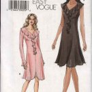 Vogue Sewing Pattern 7991 Misses Size 14-16-18-20 Easy Knit  Dresses