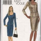 Vogue Sewing Pattern 7993 Misses size 14-16-18-20 Easy Jacket Top  Skirt Belt Suit