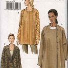 Vogue Sewing Pattern 8007 Misses Size 20-22-24 Easy Lined Asymmetric Loose-fitting Jacket