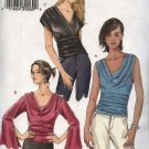 Vogue Sewing Pattern 8034 Misses Size 12-14-16 Easy Loose-fitting Tops