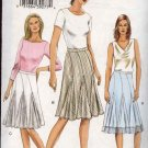 Vogue Sewing Pattern 8037 Misses Size 8-10-12 Easy Gored Skirts