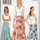 Vogue Sewing Pattern 8040 Misses Size 18-20-22 Easy Flared Shaped Skirt Sash