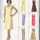 Vogue Sewing Pattern 8068 Misses Size 6-8-10 Easy Sleeveless Raised Waist  Dress