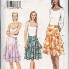 Vogue Sewing Pattern 8082 Misses size 6-8-10 Easy Ruffled Skirts