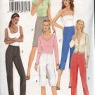 Vogue Sewing Pattern 8086 Misses Size 6-8-10 Easy Basic Fitted Straight Leg Shorts Pants Bermuda
