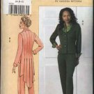 Vogue Sewing Pattern 8136 Misse Size10-14 Sandra Betzina Jacket Pants Pantsuit