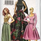 Vogue Sewing Pattern 8158 Misses Size 18-20-22 Easy Evening formal Short Long Skirt