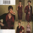 Vogue Sewing Pattern 8170 Misses Size 8-10-12 Easy Wardrobe Jacket Top Dress Skirt Pants