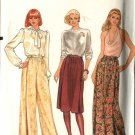 Vogue Sewing Pattern 8186 Misses Size 10 Skirt & Pants