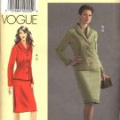 Vogue Sewing Pattern 8204 Misses Size 10-14 Sandra Betzina Jacket Skirt Suit