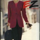 Vogue Sewing Pattern 8273 Misses Size 6-8-10 Easy Jackets Pants Pantsuit