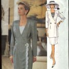 Vogue Woman Sewing Pattern 8590 Misses Size 8-12 Easy Dress Top Skirt Suit