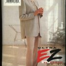 Vogue Sewing Pattern 8929 Misses Size 6-8-10 Easy Jacket Top Pants Pantsuit
