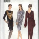 Vogue Sewing Pattern 9154 V9154 Misses Size 6-8-10 Easy Formal Evening Long Short Dress Gown