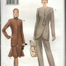Vogue Sewing Pattern 9157 V9157 Misses Size 8-12 Easy Pants Skirt Jacket Suit Pantsuit