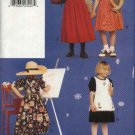 Vogue Sewing Pattern 9461 Girls Size 2-3-4 Easy  Dress  Pinafores
