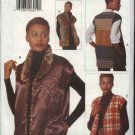 Vogue Sewing Pattern 9706 Misses Size 8-10-12 Easy Creative Quilted Vest