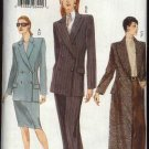 Vogue Sewing Pattern 9749 Misses size 8-10-12 Jacket Skirt Pants Suit Pantsuit Coat