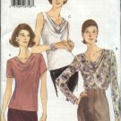 Vogue Sewing Pattern 9771 Misses Size 6-8-10 Easy Pullover Top Blouse
