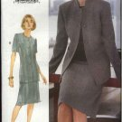 Vogue Woman Sewing Pattern 9934 Misses Size 8-10-12 Easy Skirt Jacket Suit