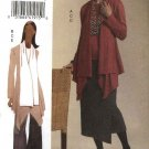 Vogue WomanSewing Pattern 8435 Misses Size 12-14-16 Easy Knit Wardrobe Jacket Top Skirt Pants