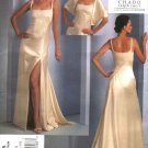 Vogue Sewing Pattern 1075 Misses Size 4-10 Chado Ralph Rucci Evening Gown Formal Dress Train Stole