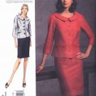 Vogue Sewing Pattern 1037 Misses Size 6-12 Badgley Mischka Jacket Skirt Suit