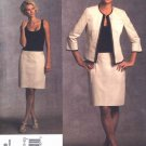 Vogue Sewing Pattern 1028 Misses Size 14-22 DKNY Donna Karan Jacket Dress Suit