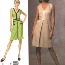 Vogue Sewing Pattern 1026 V1026 Misses Size 18-20-22  Easy Badgley Mischka A-line Dress Belt