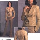 Vogue Sewing Pattern 1040 Misses Size 14-22 Badgley Mischka Jacket Pants Pantsuit