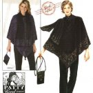 Simplicity Sewing Pattern 0585 Misses Size 14-26 Easy Knit Top Pants Poncho Purse Scarf