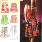 Simplicity Sewing Pattern 0592 Misses Size 12-14-16-18 Classic Pleated Skirts