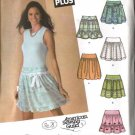 Simplicity Sewing Pattern 4285 Junior Misses Size 5/6-15/16 Yoke Gathered Skirts
