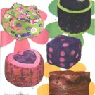 Simplicity Sewing Pattern 4290 Childrens  Five Floor Pillows Cushions