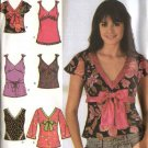Simplicity Sewing Pattern 4353 Misses Size 6-8-10-12-14 Easy Pullover Raised Waist Tunic Top