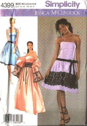 VINTAGE 1966 SIMPLICITY WEDDING DRESS FORMAL PATTERN 6759 SIZE 14