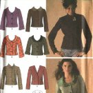 Simplicity Sewing Pattern 4412 Misses Size 8-10-12-14-16 Princess Seam Jacket Variations