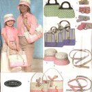 Simplicity Sewing Pattern 4490 Misses'/Girls' Bags  Hats Belts Totes Purses Bracelet
