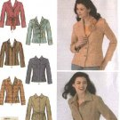 Simplicity Sewing Pattern 4491 Misses Size 14-16-18-20-22 Lined Jacket Blazer