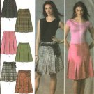 Simplicity Sewing Pattern 4498 Misses Size 12-14-16-18-20 Pleated Skirt